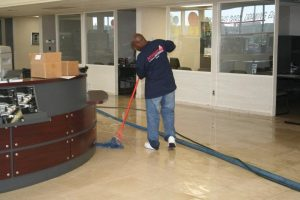 Showroom Area Floor Mopping